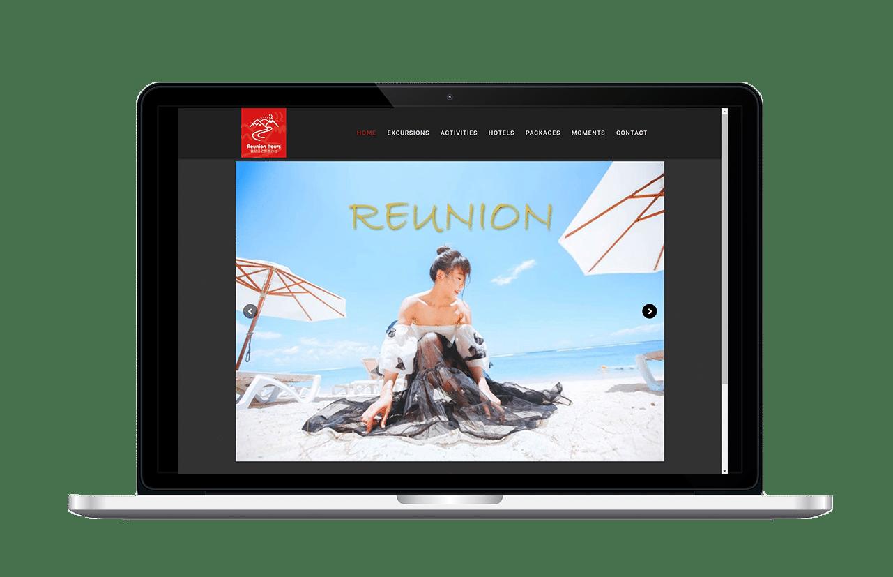 Aperçu du site Reunionitoursagency.com
